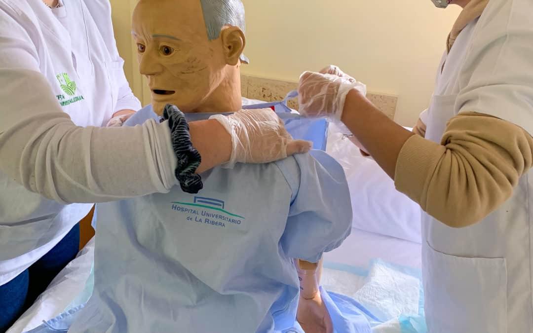 La EFA Torrealedua especializa a su alumnado sanitario contra la pandemia de la COVID-19