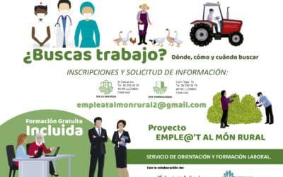 Un nuevo proyecto de la EFA ayudará a encontrar trabajo en el medio rural
