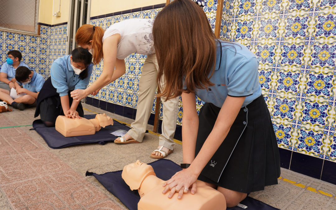 La EFA Torrealedua imparte un taller que salva vidas