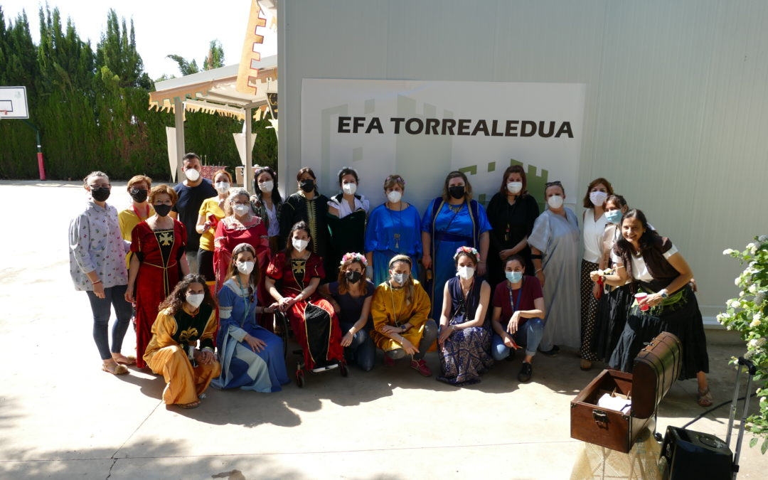 EFA Torrealedua realiza un escape room  medieval